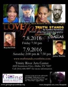 Truth Stands Poster